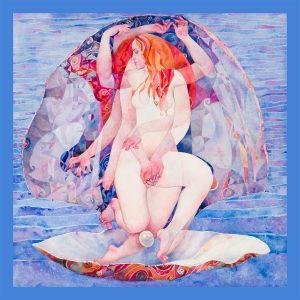 Serithea Silk Scarves - Birth of Venus
