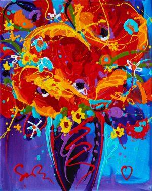 Simon Bull - Simon Bull original acrylic painting