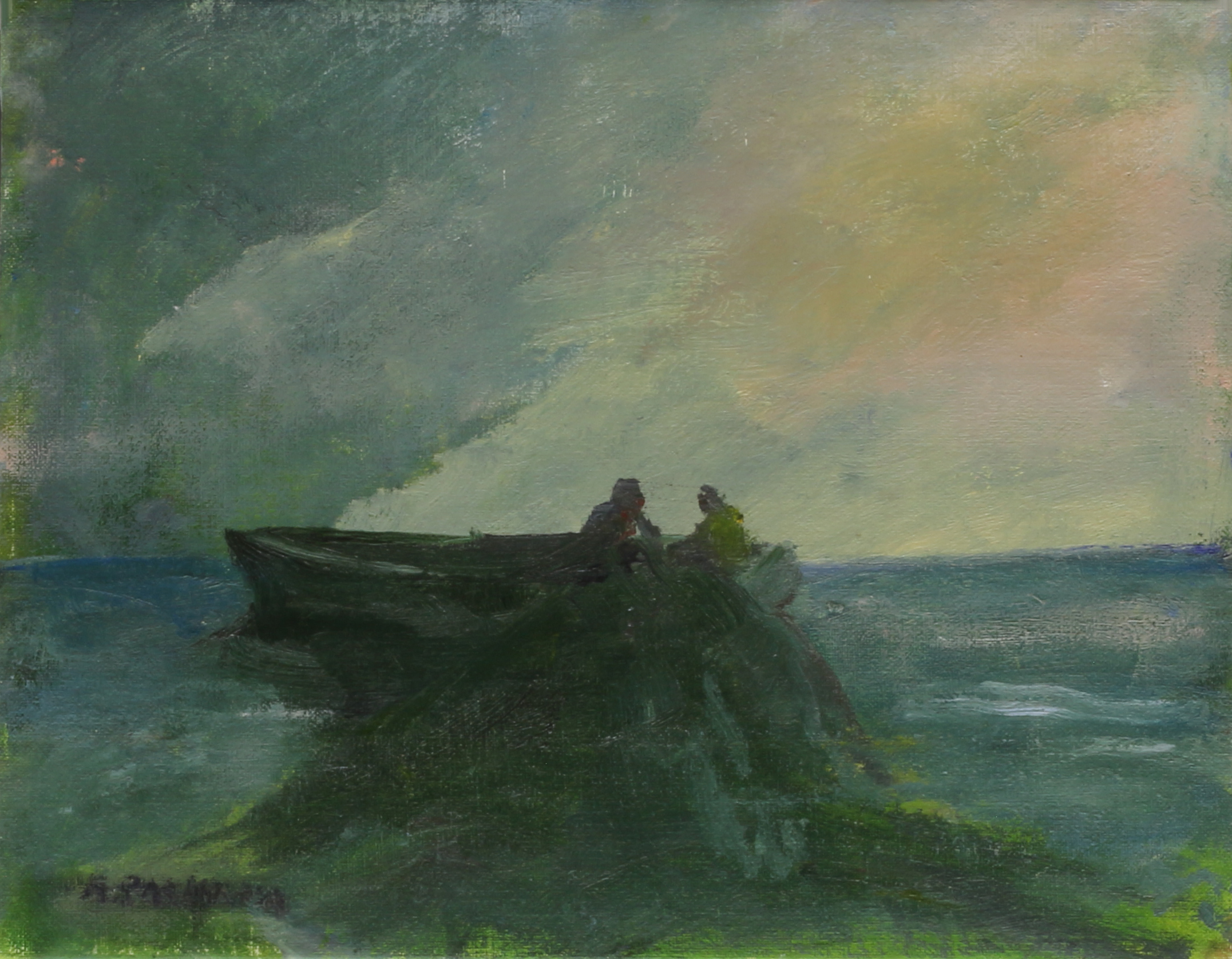 Anne Packard - Bringing in the Nets