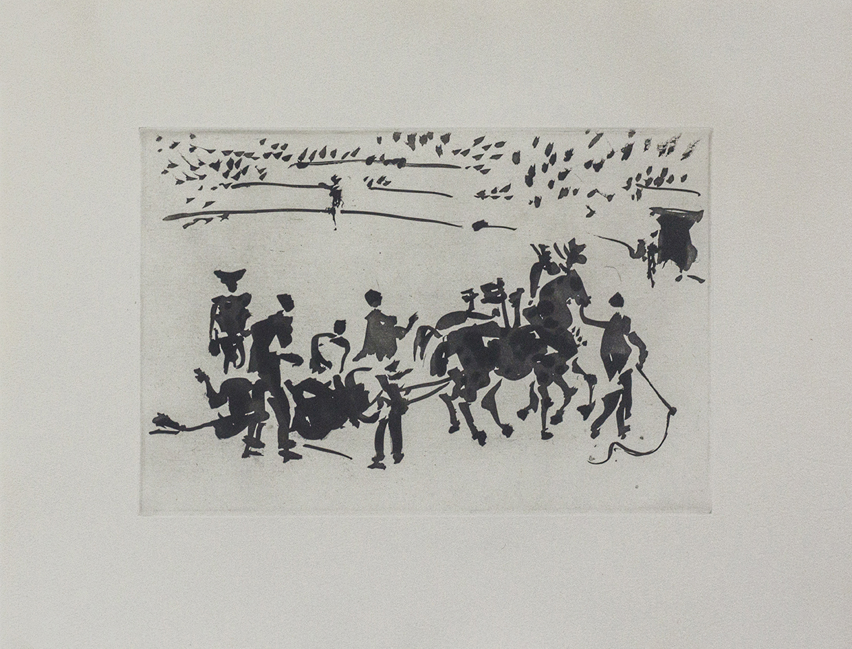 Picasso - El Arrastre (Dragging of the Slain Bull)