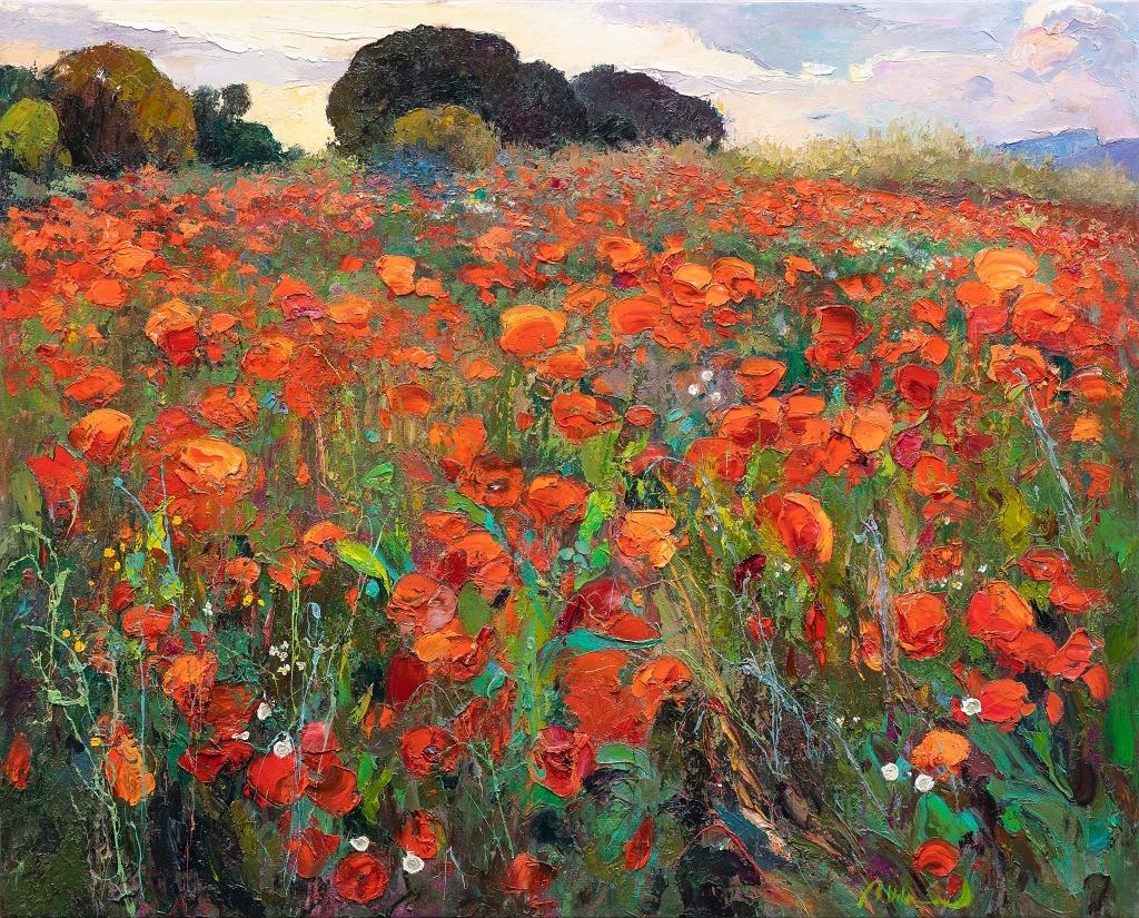 Ramon Vilanova - Ramon Vilanova Original Oil Painting