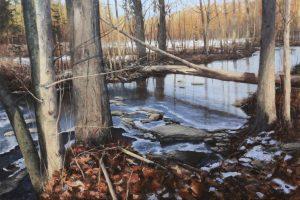 Matthew Cutter - Matthew J. Cutter Original Landscape Painting