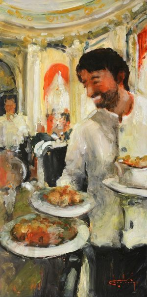 Stephen Shortridge - Happiest Waiter In The World