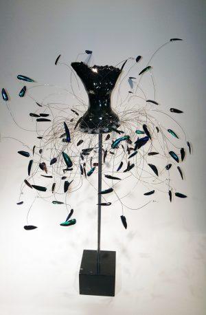 Estella Fransbergen - High Fired Torso with Beetle Wings