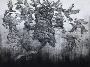 Daud Akhriev - Daud Akhriev etching