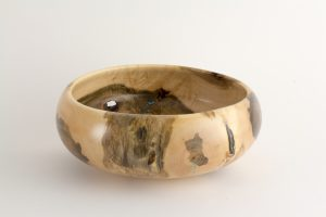 Mark Wood - Maple Calabash Bowl