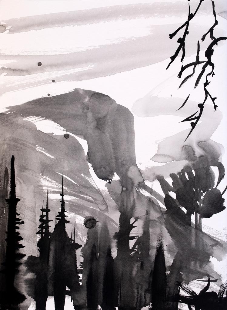 simon bull original painting