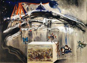 Salvador Dali - salvador dali originals for sale