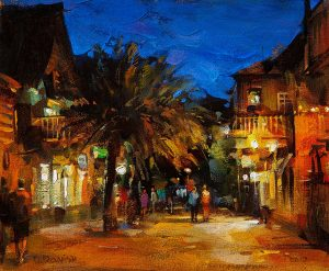 Dmitri Danish - Night, St. Augustine