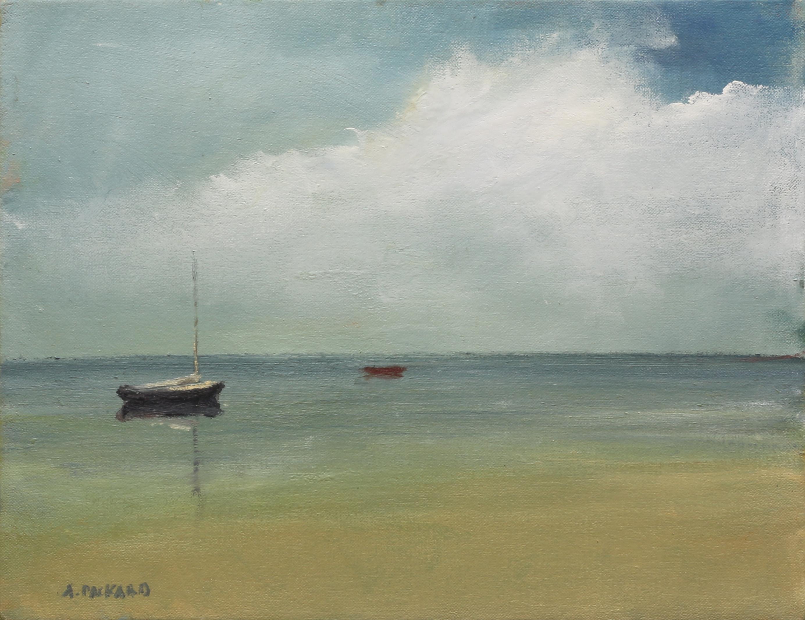 Anne Packard - Red Dory, Blue Sail