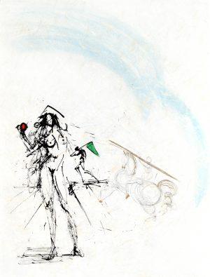 Salvador Dali - Ronsard The Angler