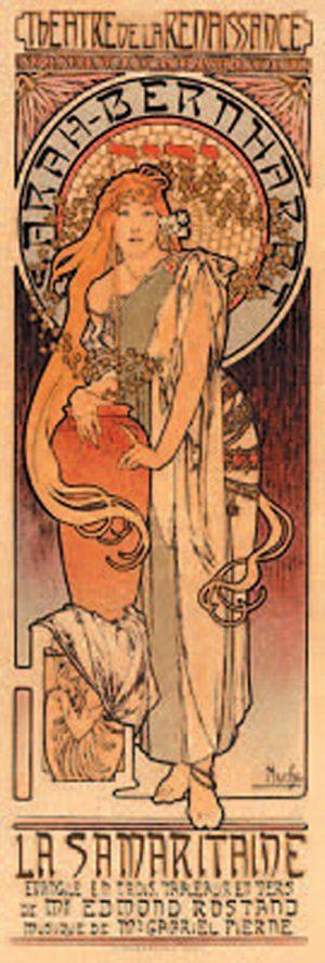 Alphonse Mucha - Sarah-Bernhardt/La Samaritaine