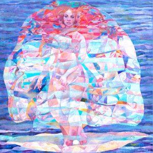 Serithea Silk Scarves - Sea Sister