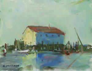 Sunlit Wharf