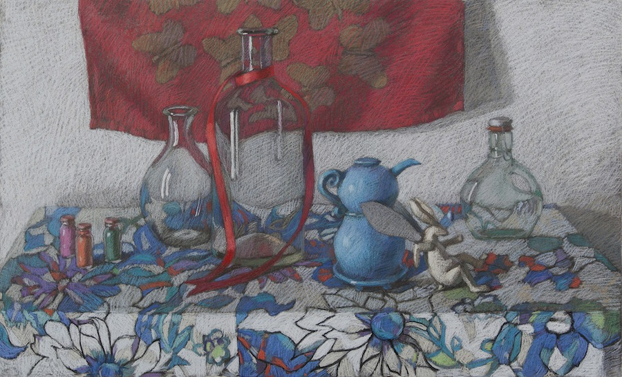 Melissa Hefferlin - The Blue Teapot