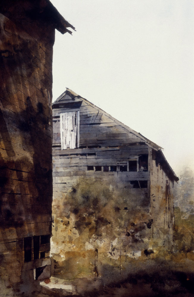 Dean L. Mitchell - Tobacco Barn
