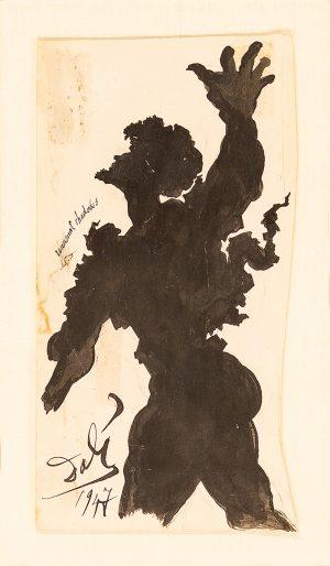 Salvador Dali - Unusual Shadows