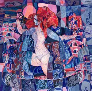 Serithea Silk Scarves - Venice