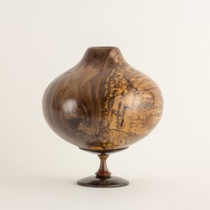 Mark Wood - Walnut and Ebony Hollow Form