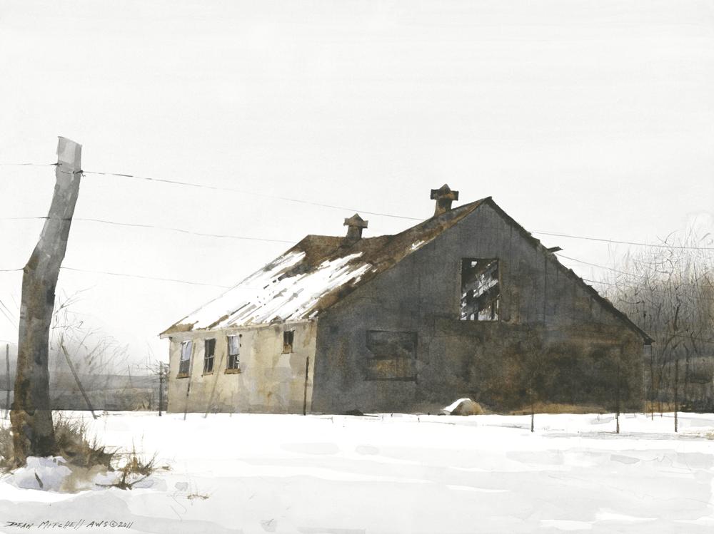 Dean Mitchell Winter Barn